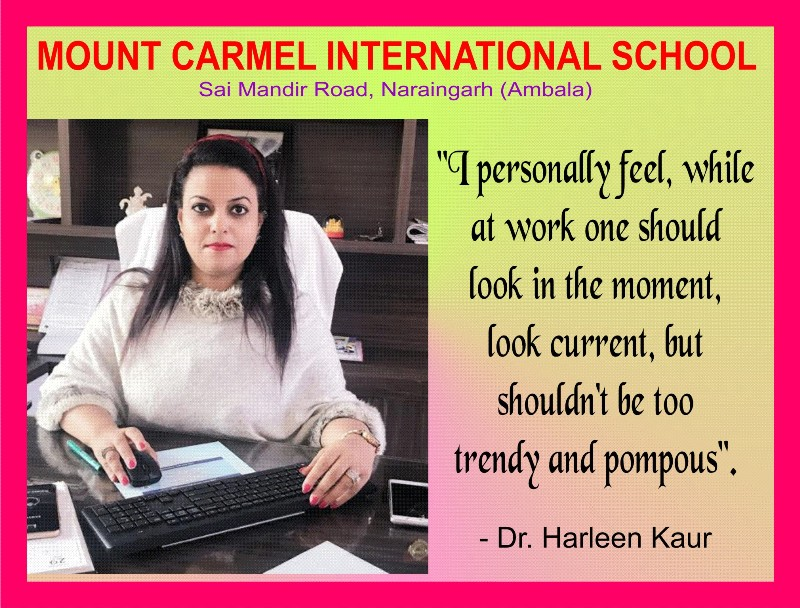 Tips of Power Dressing for Working Women : By Dr. Harleen Kaur